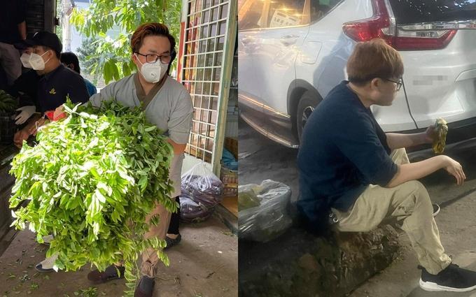 Những khoảnh khắc nghệ sĩ Việt giúp dân chống dịch gây xúc động-2