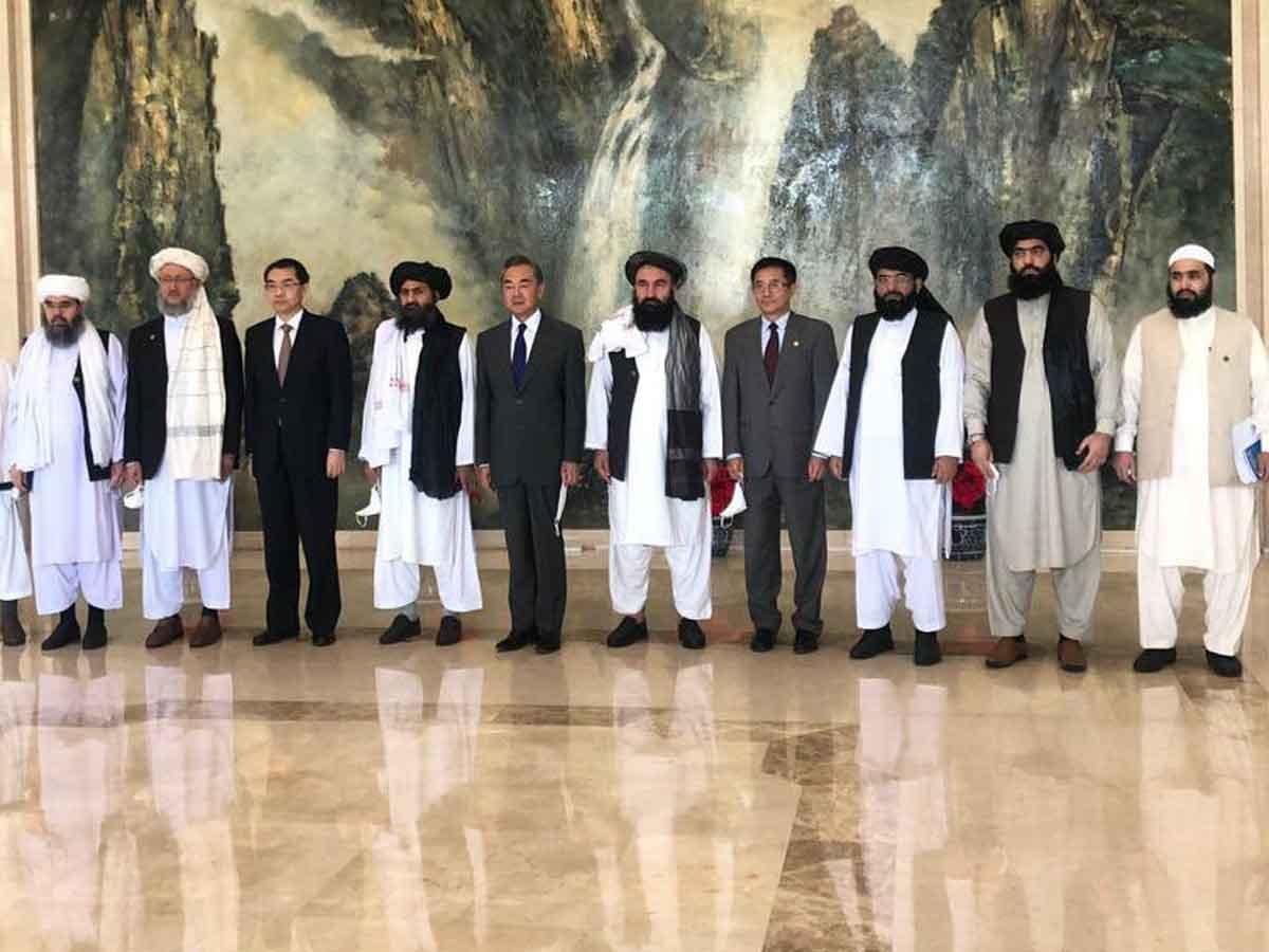 Tình hình Afghanistan: Trung Quốc ra cam kết, Taliban tuyên bố không để Kabul bị lợi dụng. (Nguồn: Baaghitv)