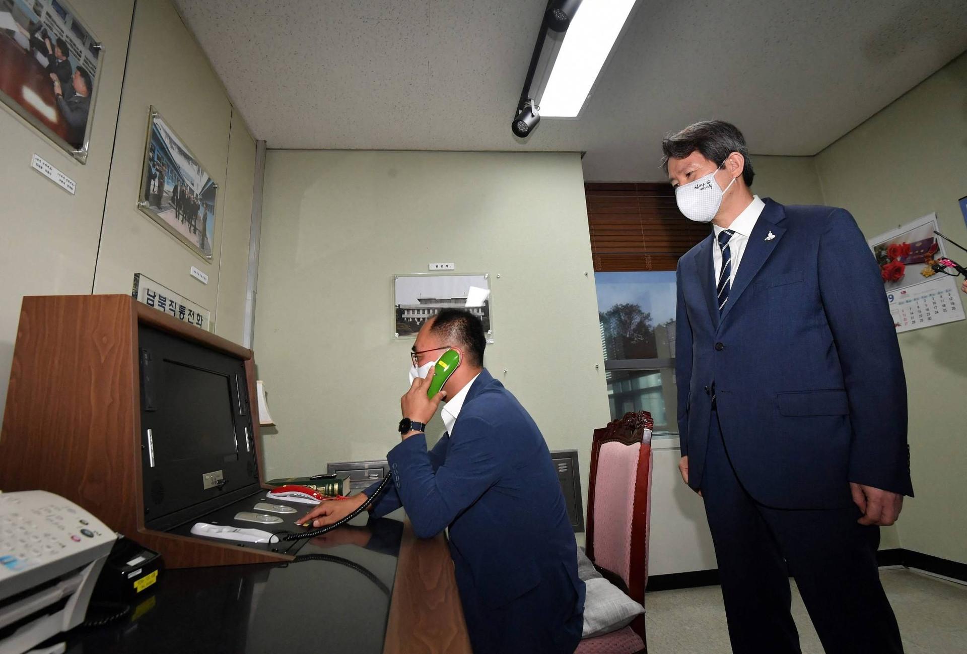 Mở lại đường dây liên lạc, quan hệ liên Triều có phục hồi sau bế tắc?