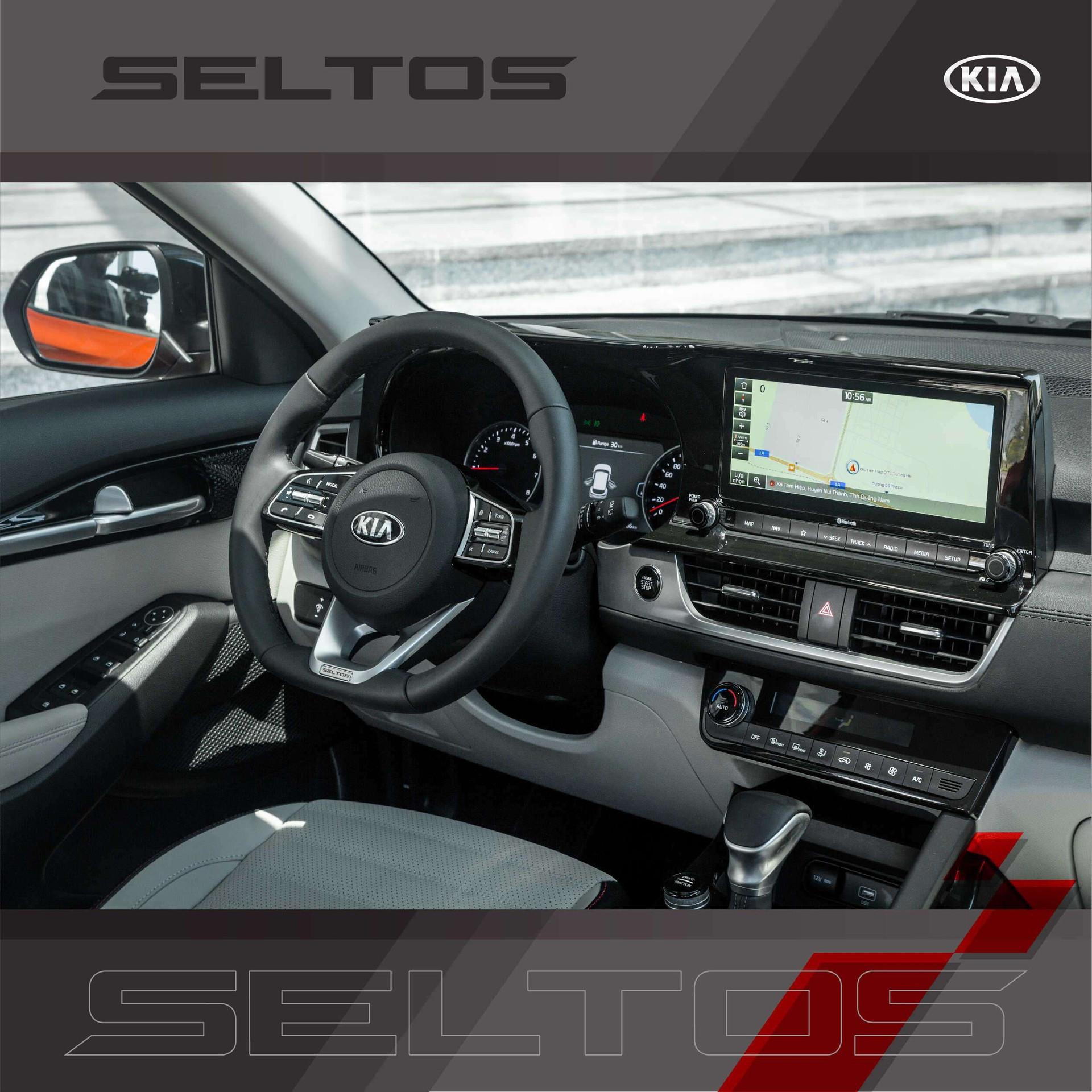 Hệ thống điều hoà chính là điểm mới của Kia Seltos 1.6 Premium