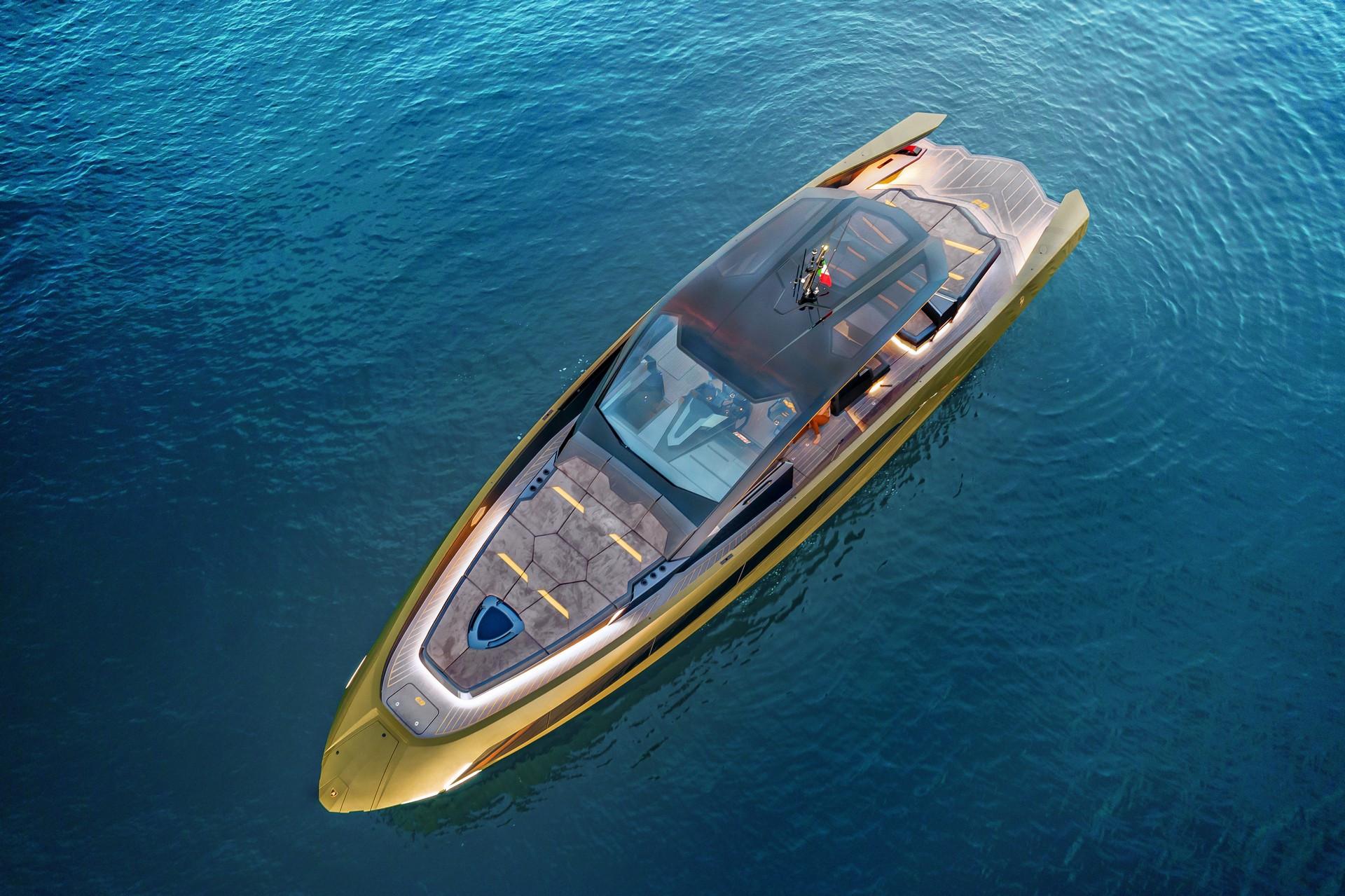 Thiết kế nhìn từ trên cao của Lamborghini Tecnomar