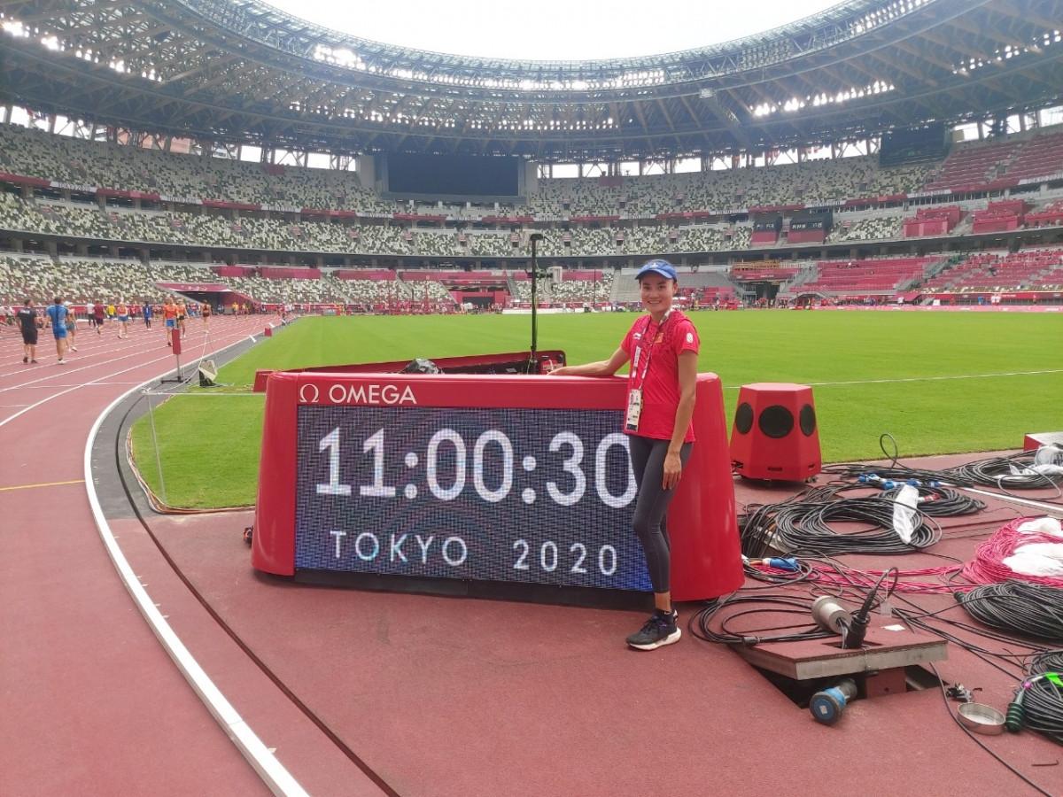 VĐV sinh năm 1995 sẽ tranh tài ở nội dung chạy 400m rào nữ.