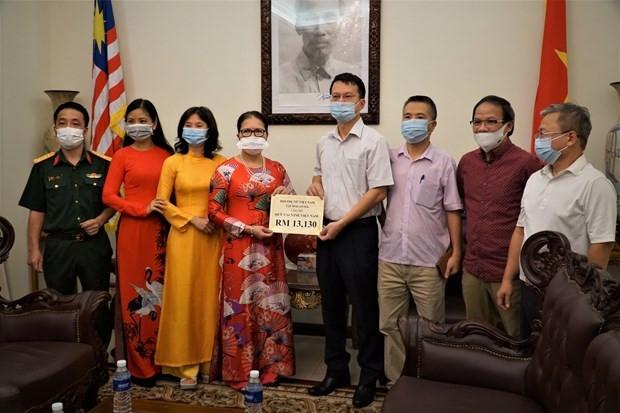 Hội phụ nữ Việt Nam tại Malaysia ủng hộ Quỹ vaccine phòng chống COVID-19