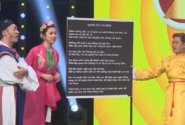 Vinh Râu công khai không thuộc nhạc của vợ cũ trên sóng truyền hình-2