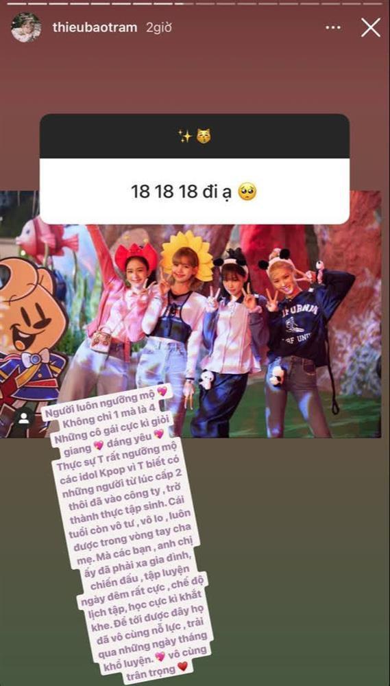 Thiều Bảo Trâm khâm phục nỗ lực idol Kpop, fan chân chính BLACKPINK-2