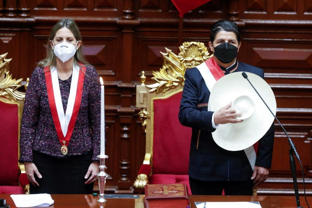 Tổng thống Peru tuyên thệ nhậm chức: Nhiều kỳ vọng và hứa hẹn. (Nguồn: AP)