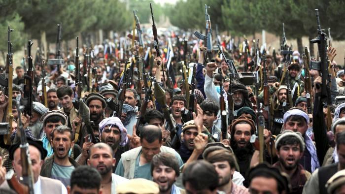 (07.28) Nga có thể đóng vai trò lớn hơn tại Afghanistan sau khi Mỹ tuyên bố rút quân khỏi đây. (Nguồn: AP)