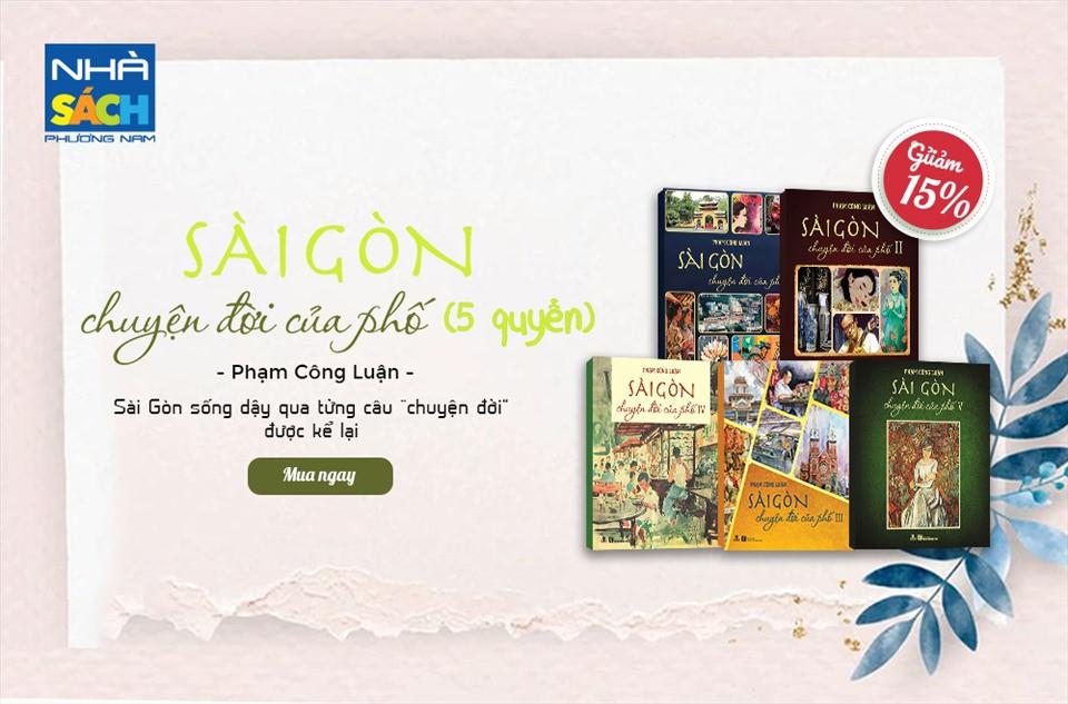 Thương Sài Gòn hơn qua từng trang sách giữa những ngày dịch - 1