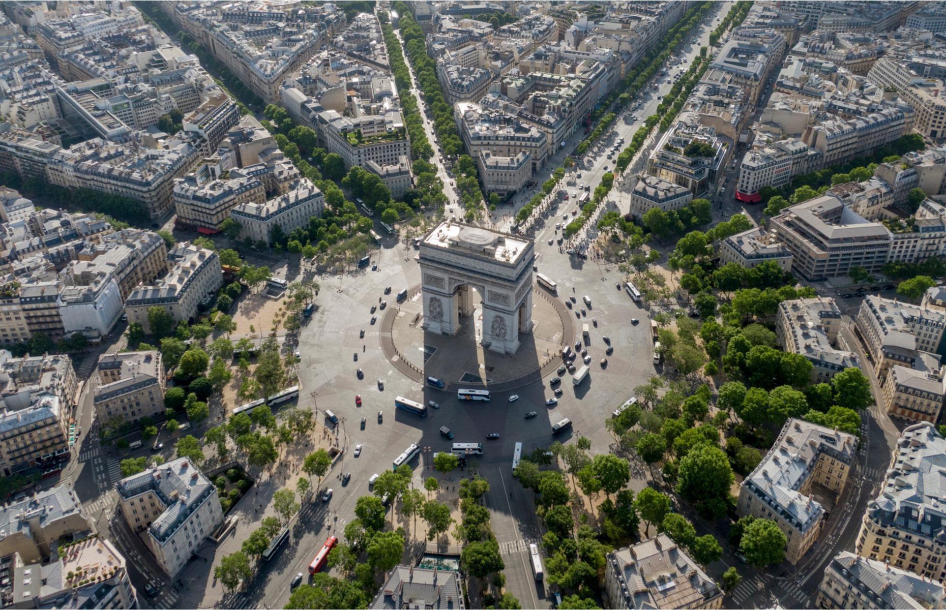 Châu Âu tuyệt đẹp nhìn từ trên cao - 1