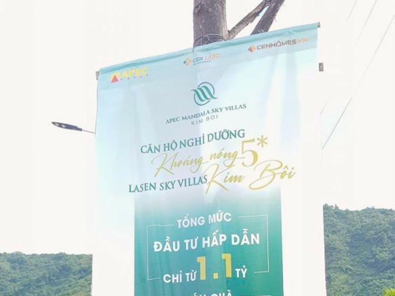 Bát nháo rao bán dự án Apec Mandala Kim Bôi, Hoà Bình chỉ đạo nóng