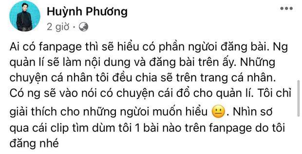 Nghi Huỳnh Phương bênh Vinh Râu, dân mạng khịa quá khứ yêu Sĩ Thanh-5