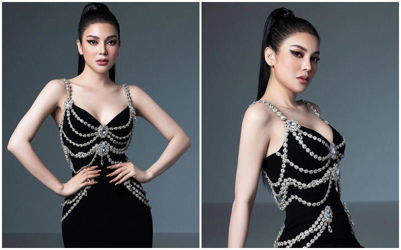 Hết Kim Duyên lại đến tình địch tin đồn của Ngọc Trinh diện váy nhái Chanel-5