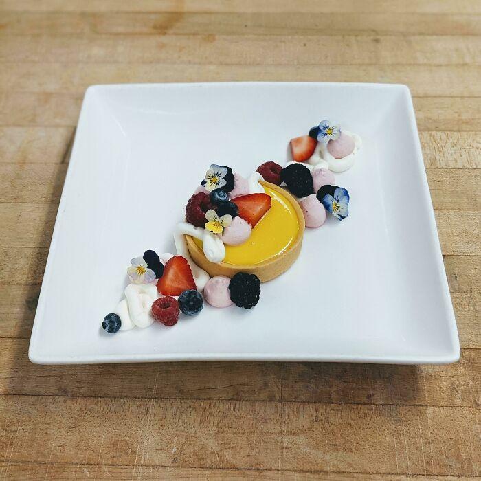 Đỉnh cao nghệ thuật trang trí món ăn của đầu bếp mùa giãn cách - 2
