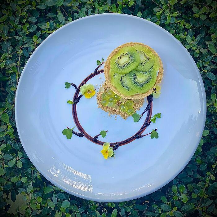 Đỉnh cao nghệ thuật trang trí món ăn của đầu bếp mùa giãn cách - 10
