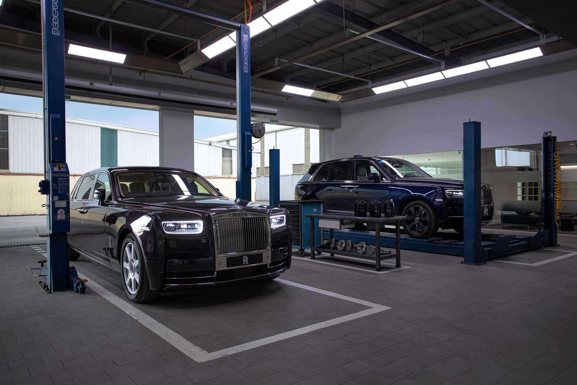 Dịch vụ của Roll-Royce Việt Nam sẽ giống như tại Goodwood