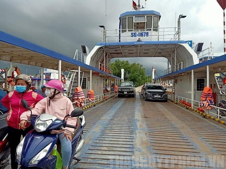 TP.HCM: Bến phà Cần Giờ - Cần Giuộc tạm dừng hoạt động từ ngày 30/7 - 1