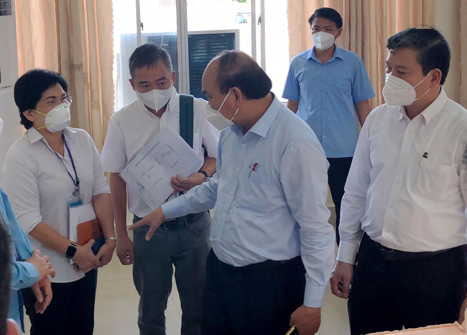 Chủ tịch nước: TP Thuận An cần giãn cách mạnh mẽ, quyết liệt hơn nữa - 1