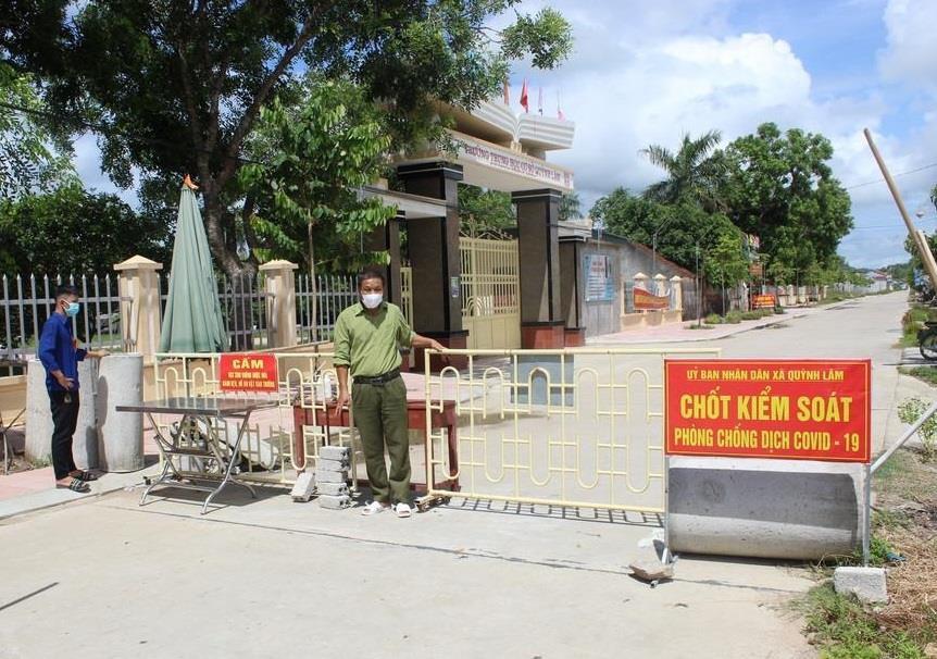 Nghệ An: Huyện Quỳnh Lưu cách ly xã hội theo Chỉ thị 16 từ 0h ngày 31/7 - 1