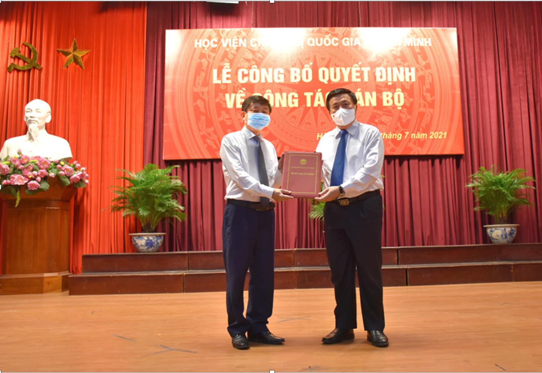 Bổ nhiệm tân Giám đốc Học viện Báo chí và Tuyên truyền - 1