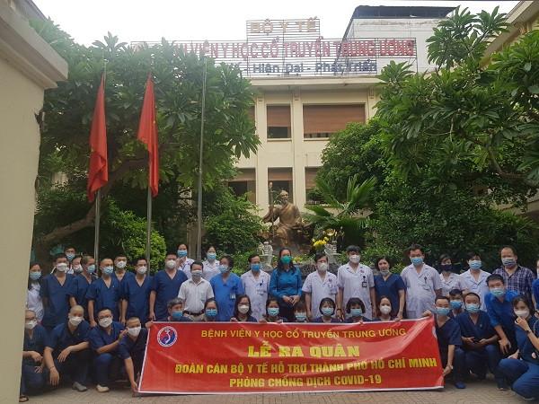 Bệnh viện Y học cổ truyền Trung ương  chi viện hỗ trợ TP.HCM