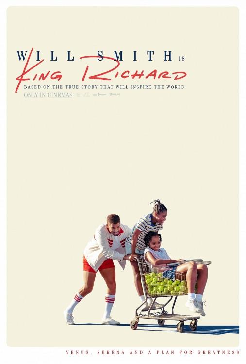 'King Richrd': Tái hiện lại hành trình huy hoàng của chị em Williams cùng người cha vĩ đại