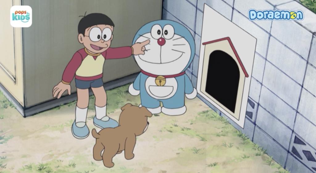 Nobita bây giờ đã khác 8 mùa trước nhiều rồi
