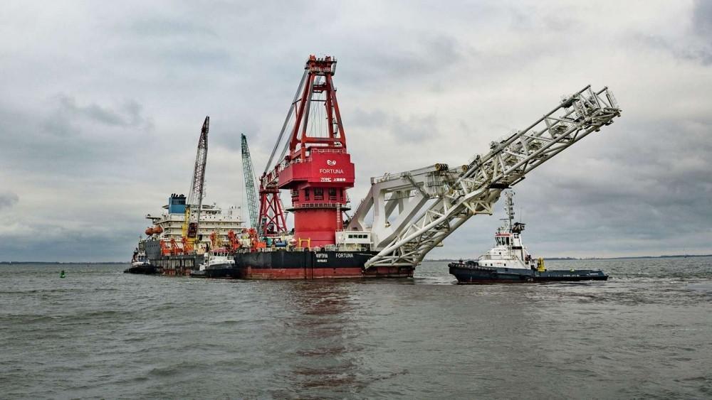 Đường ống cuối cùng của Nord Stream 2 sắp hoàn thành