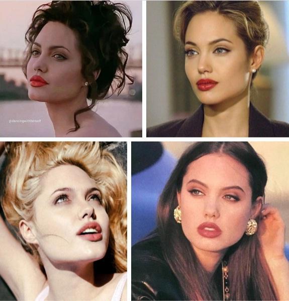 Angelina Jolie cân mọi style makeup, nhưng có 1 kiểu không dám thử lại-2