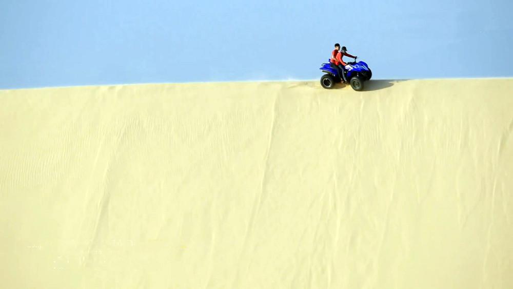 """Bàu trắng – """"Thiên đường cát"""" ở Bình Thuận - 1"""
