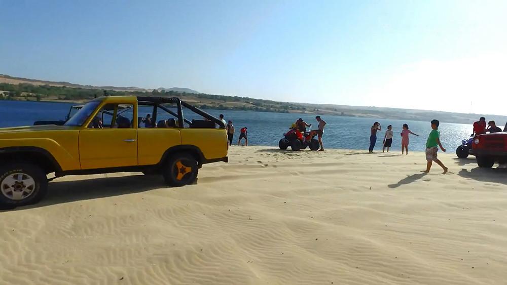"""Bàu trắng – """"Thiên đường cát"""" ở Bình Thuận - 4"""