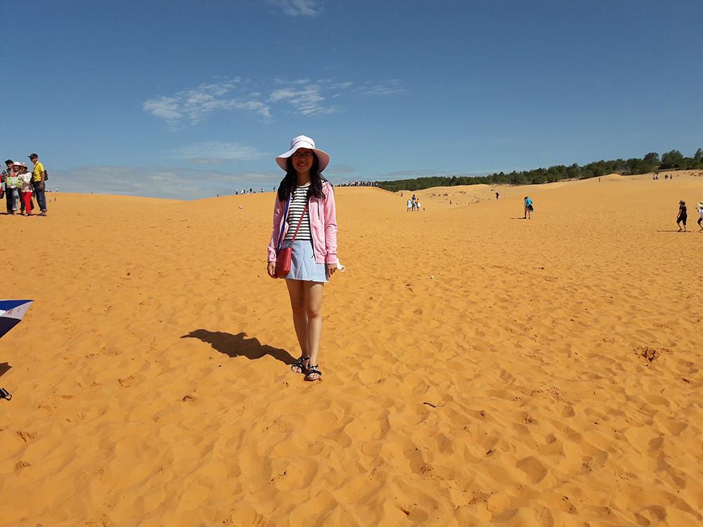 """Bàu trắng – """"Thiên đường cát"""" ở Bình Thuận - 2"""