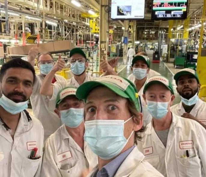 Nhà máy sản xuất Honda Civic Type R đóng cửa
