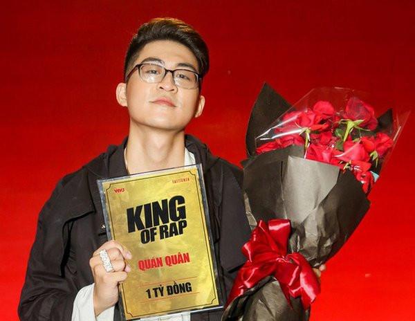Á quân King Of Rap diss Quán quân, chửi chương trình là 'rác', hối hận vì không thi Rap Việt 2