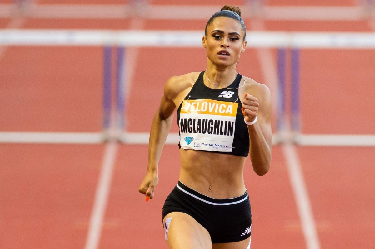 Sydney McLaughlin đang nắm kỷ lục thế giới trên đường chạy 400m rào. (Ảnh: Getty)