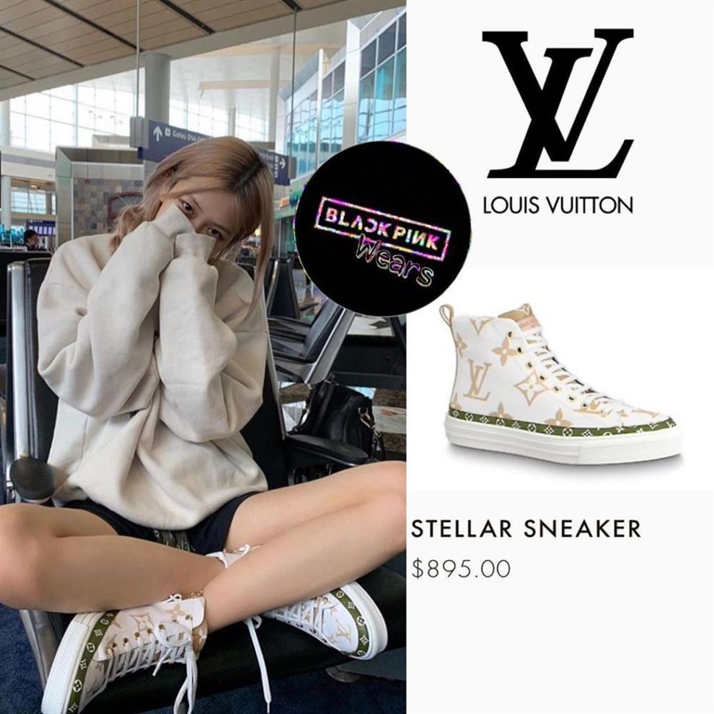 Tủ giày BLACKPINK: Lisa tậu đôi 70 triệu, Jennie xài hàng bình dân-4