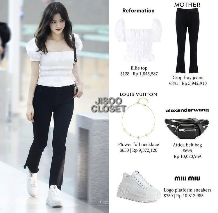 Tủ giày BLACKPINK: Lisa tậu đôi 70 triệu, Jennie xài hàng bình dân-8