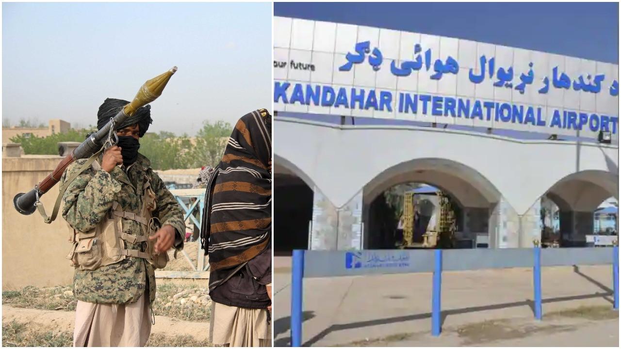 Ít nhất 3 quả rocket đã nã vào sân bay Kandahar ở miền Nam Afghanistan đêm 31/7 trong bối cảnh Taliban đẩy mạnh chiến dịch tấn công sâu rộng trên khắp cả nước. (Nguồn: OpIndia)
