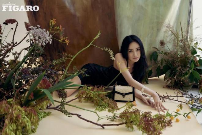 """Dương Mịch xinh đẹp dịu dàng như """"thần tiên tỷ tỷ"""" trong loạt ảnh tạp chí mới - 6"""