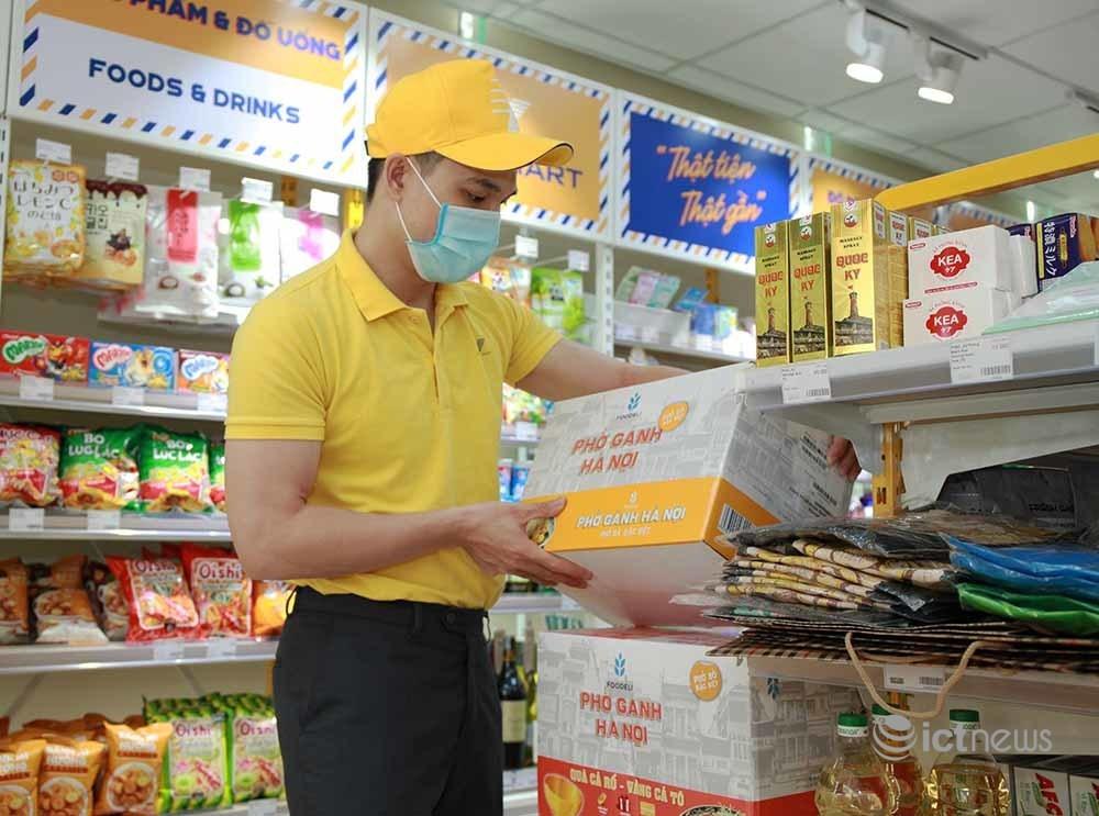 Doanh nghiệp bưu chính duy trì luồng vận chuyển hàng cho siêu thị, cửa hàng tại vùng dịch