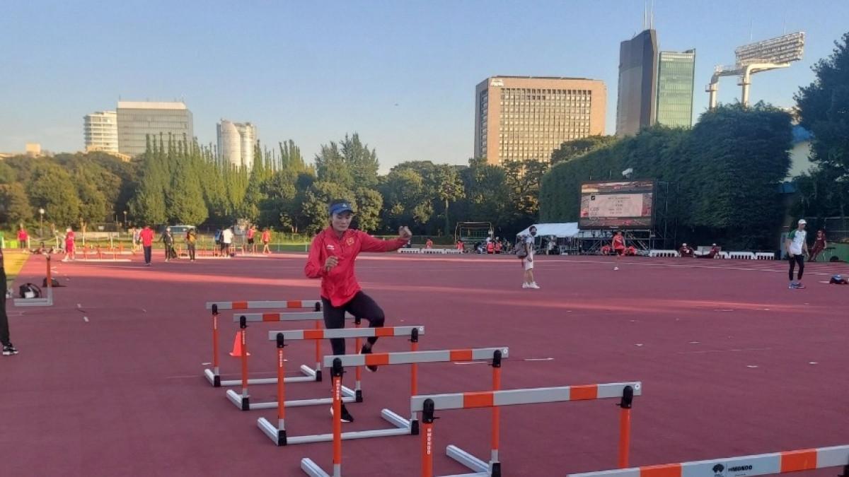 Quách Thị Lan cũng là VĐV châu Á duy nhất vào bán kết nội dung 400m rào nữ ở Olympic Tokyo.