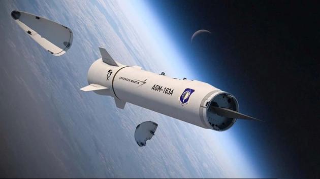 Tên lửa siêu thanh AGM-183A của Mỹ lại 'xịt' trong lần phóng thử nghiệm