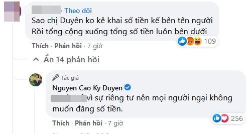 MC Kỳ Duyên bị chất vấn tiền từ thiện thiếu minh bạch-9