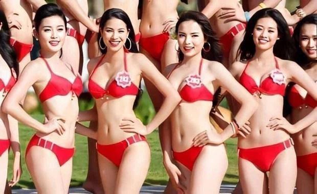 Bức hình Phạm Hương, Kỳ Duyên, Khánh Vân thời còn là đối thủ-1