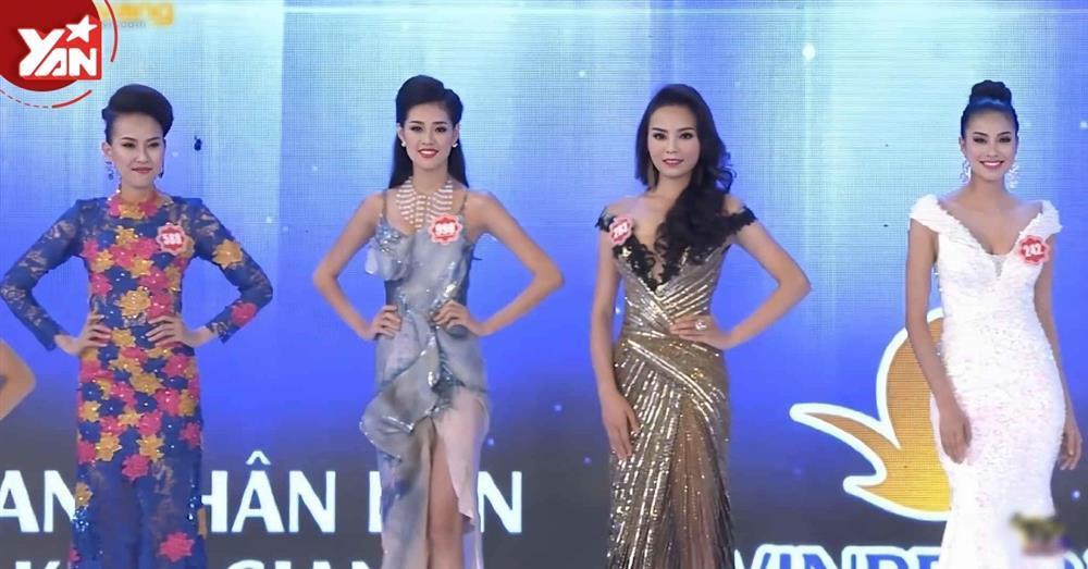 Bức hình Phạm Hương, Kỳ Duyên, Khánh Vân thời còn là đối thủ-5