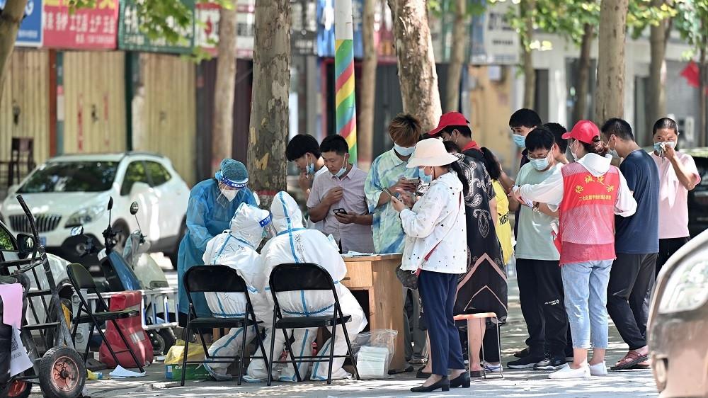 Covid-19 trở lại Trung Quốc: Đợt dịch nguy hiểm nhất trong nhiều tháng, 18/31 tỉnh thành báo động. (Nguồn: CGTN)