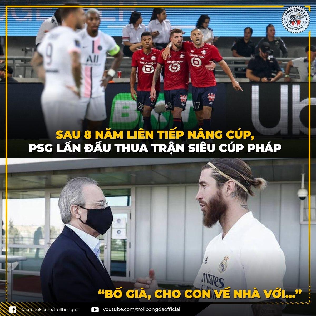 Sergio Ramos bắt đầu