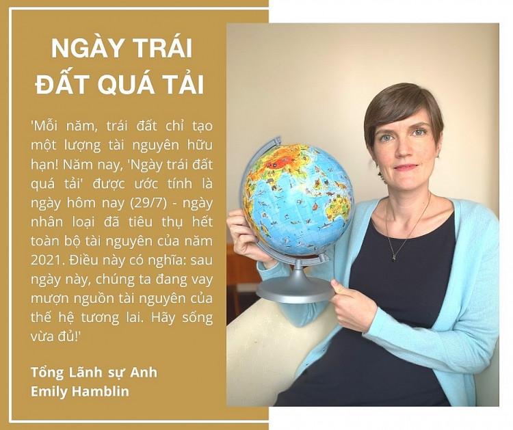 Hàng loạt sao Việt, Tiktoker, Blogger, Youtuber hưởng ứng 'Ngày trái đất quá tải 2021'