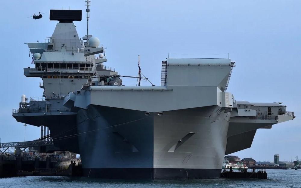 Tàu sân bay Anh tiến vào Biển Đông bất chấp phản đối từ Trung Quốc