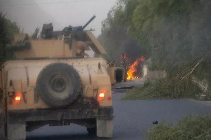 Mỹ và NATO rút quân, Afghanistan lại dồn dập tiếng súng