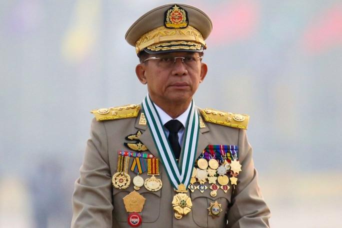 Thống tướng Min Aung Hlaing tuyên bố là tân thủ tướng Myanmar